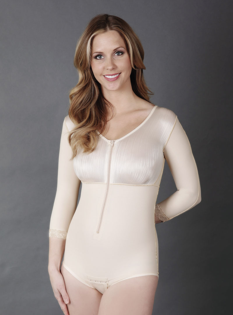 SC-26 Abdominoplasty Body Shaper with Sleeves