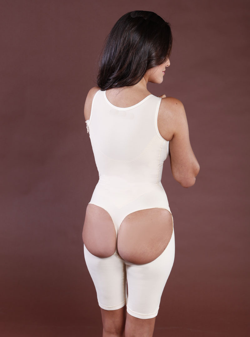 SC-290 Sculptures Brazilian Above the Knee Body Shaper