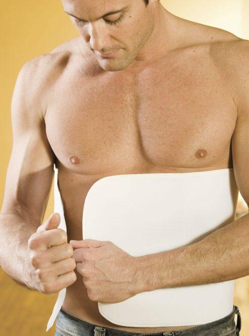 UB-712 12 Inch One Strap Abdominoplasty Binder